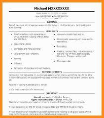 Aircraft Mechanic Resume Examples 12 13 Aircraft Mechanic Resume Lascazuelasphilly Com