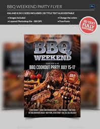 Barbecue Flyers Bbq Flyer
