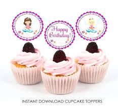 Free Printable Cupcake Toppers Tip Junkie Cupcakes Topper Elegant