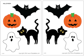 Halloween Template Halloween Characters Printable Templates Coloring Pages