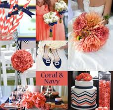 Coral et navy Miss. MP: The Chronicles of a Sassy Magnolia: Coral and Blue  Wedding Ideas