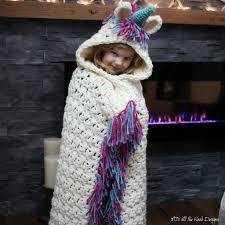 Crochet Unicorn Blanket Pattern Free