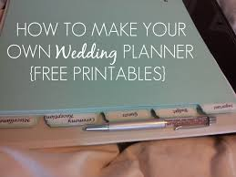 Wedding Planner Cover Page Template