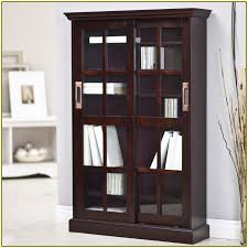 bookcase with sliding glass doors home design ideas pertaining to bookcases designs 5