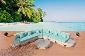 modern wicker patio furniture. Nouveau De Soleil Set 3r, The Island Sectional Sofa In White \u0026 Oceana Modern Wicker Patio Furniture E