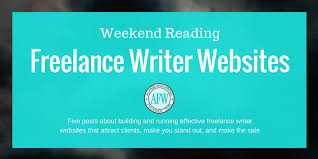 weekend reading your lance writer website all lance writing weekend reading lance writer websites