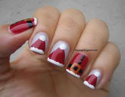 Easy Christmas Nail Designs Step Step. christmas nail art best ...