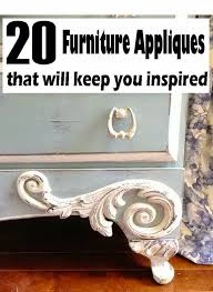 furniture embellishments. 4 the love of wood: 20 furniture appliques that will keep you inspired. awesome detail ideas to add your furniture redo. embellishments \