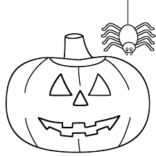 Small Picture Halloween Coloring Pages And Preschool Pumpkin glumme