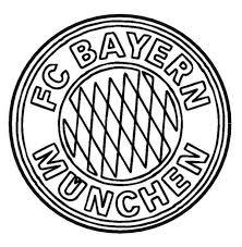 Ausmalbild Bayern Munchen Kleurplaten Kleurplaten En Voetbal