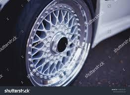 Rims Design Studio Close Rims Car Alloy Wheel Sport Royalty Free Stock Image