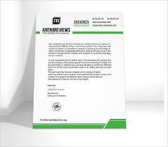 Professional Company Letterhead Professional Letterhead Sample 18623