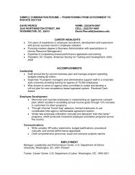 Examples Of Combination Resumes Combination Functional And Chronological Resume Template 25