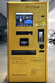Gold Bar Vending Machine Dubai Inspiration Dubaivending Machine CLAUDIA SCHLEYER