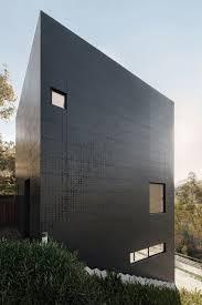 Black casa alta perforated facade