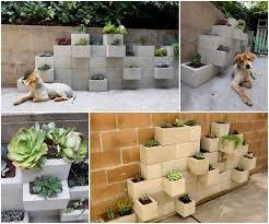 view in gallery cinder block garden planter wonderfuldiy