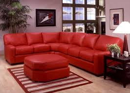 red sectional omnia leather albany leather sectional reviews wayfair