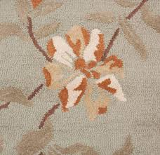 orange area rugs contemporary modern wool rug carpet hand tufted green brown gray grey white
