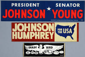 political campaign bumper stickers presidential political campaign bumper stickers historical object