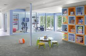 diy gym at home kids contemporary with workout room workout room toy storage