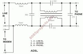 home adsl splitter circuit jpg