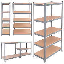 metal storage shelves. 71\ metal storage shelves