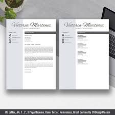 Ms Office Cv Templates 2019 Best Selling Ms Office Word Resume Cv Bundle The Victoria