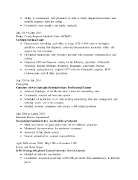 Medical Coder Resume Magnificent Medical Coding Resume