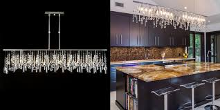 coolest linear crystal chandelier 1