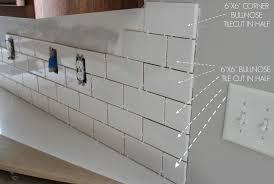 Replacing Kitchen Tiles Duo Ventures Kitchen Makeover Subway Tile Backsplash Installation