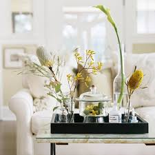 how to style your coffee table for spring