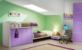 Awesome Cool Purple Beds For Kids With Asymmetrical Kids Bunk Beds For Sale  With Purple Underbed