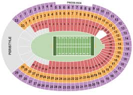 Los Angeles Memorial Coliseum Seating Chart Los Angeles