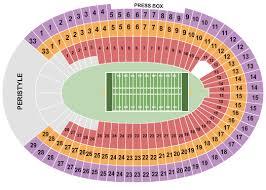 La Rams Seating Chart Los Angeles Memorial Coliseum Seating Chart Los Angeles