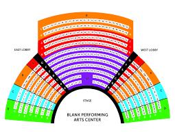 Seat Map Des Moines Metro Opera