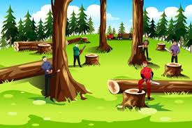 Image result for tree cutting images