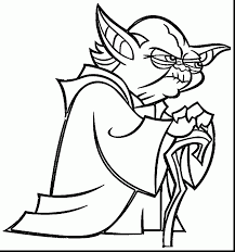Small Picture Yoda Coloring Pages coloringsuitecom