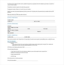sponsorship agreement sponsorship agreement template 10 free word pdf documents