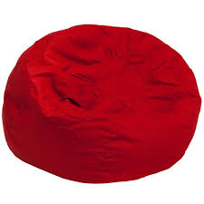 flash furniture oversized solid red bean bag chairdgbeanlgsldrd