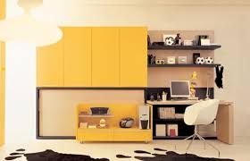 functional furniture design. creating functional kids study room with folding bed furniture design