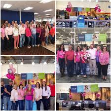 lee denim day goes pink at all our locations in support of t cancer awareness
