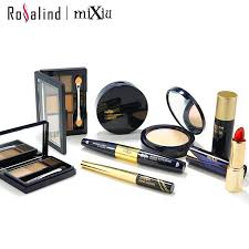 whole rosalind beauty mixiu pro must have cosmetic makeup kit included lipstick waterproof mascara eyeshadow face cosmetic set childrens makeup sets