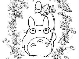 Small Picture Totoro Coloring Pages Coloring Pages For Kids