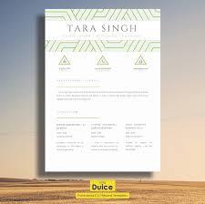 Elegant CV Template -