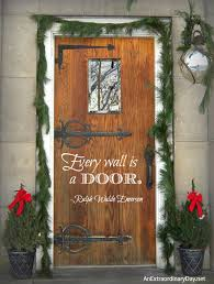 Door Quotes Best A Rustic Door An Emerson Quote Upcycling The New Recycle