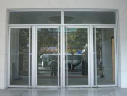 glass door door leaf is made with massive transpa glass with good vision lighting and appearance it is fit for commercial buildings hotels
