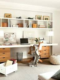 creative home office. Interesting Creative Wall Shelves Above Desk Creative Home Office Storage Ideas With In Shelf  Remodel 14