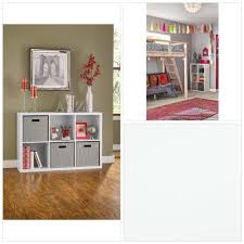 closetmaid 1109 decorative storage 6 cube organizer white