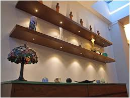 Floating Shelves With Built In Led Lights Mesmerizing Floating Shelves With Built In Lights Morespoons Ae32b32a32d32