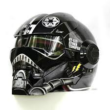 black storm trooper motorcycle helmet the distinguished nerd